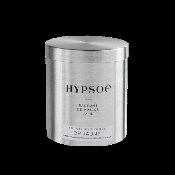 Bougie parfumée or jaune hypsoe by Destele