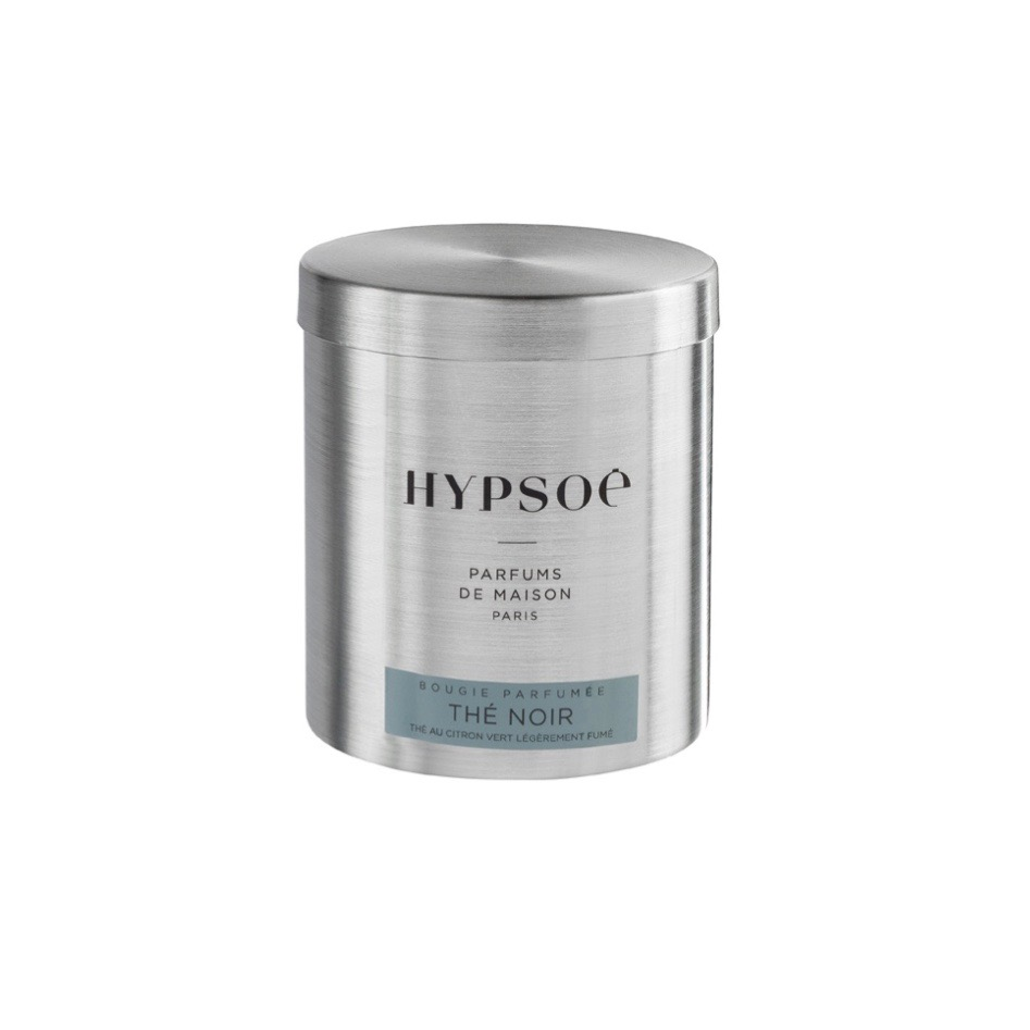 by destele hypsoe bougie parfumée the noir