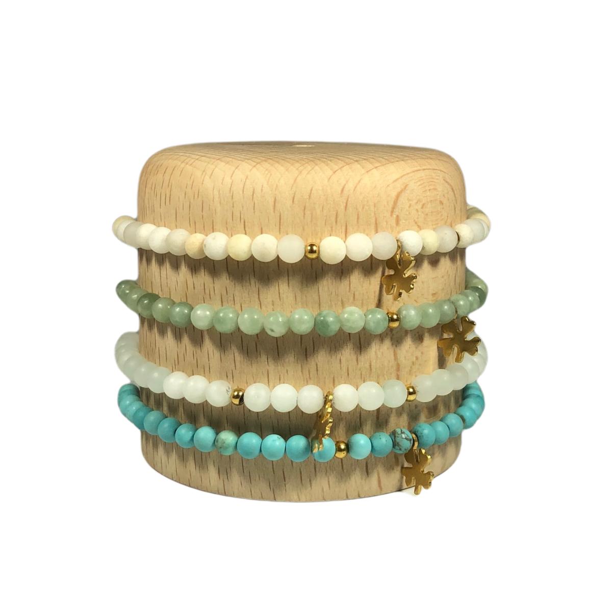 by destele bracelet pierres semi-precieuses elise