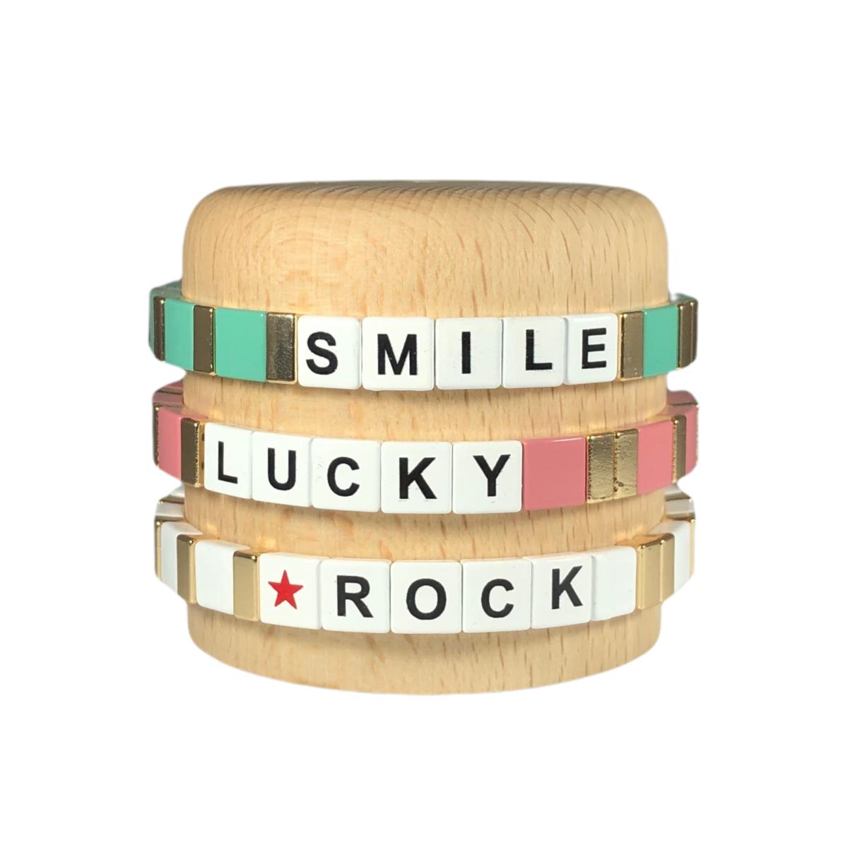 by destele bracelet message ensemble