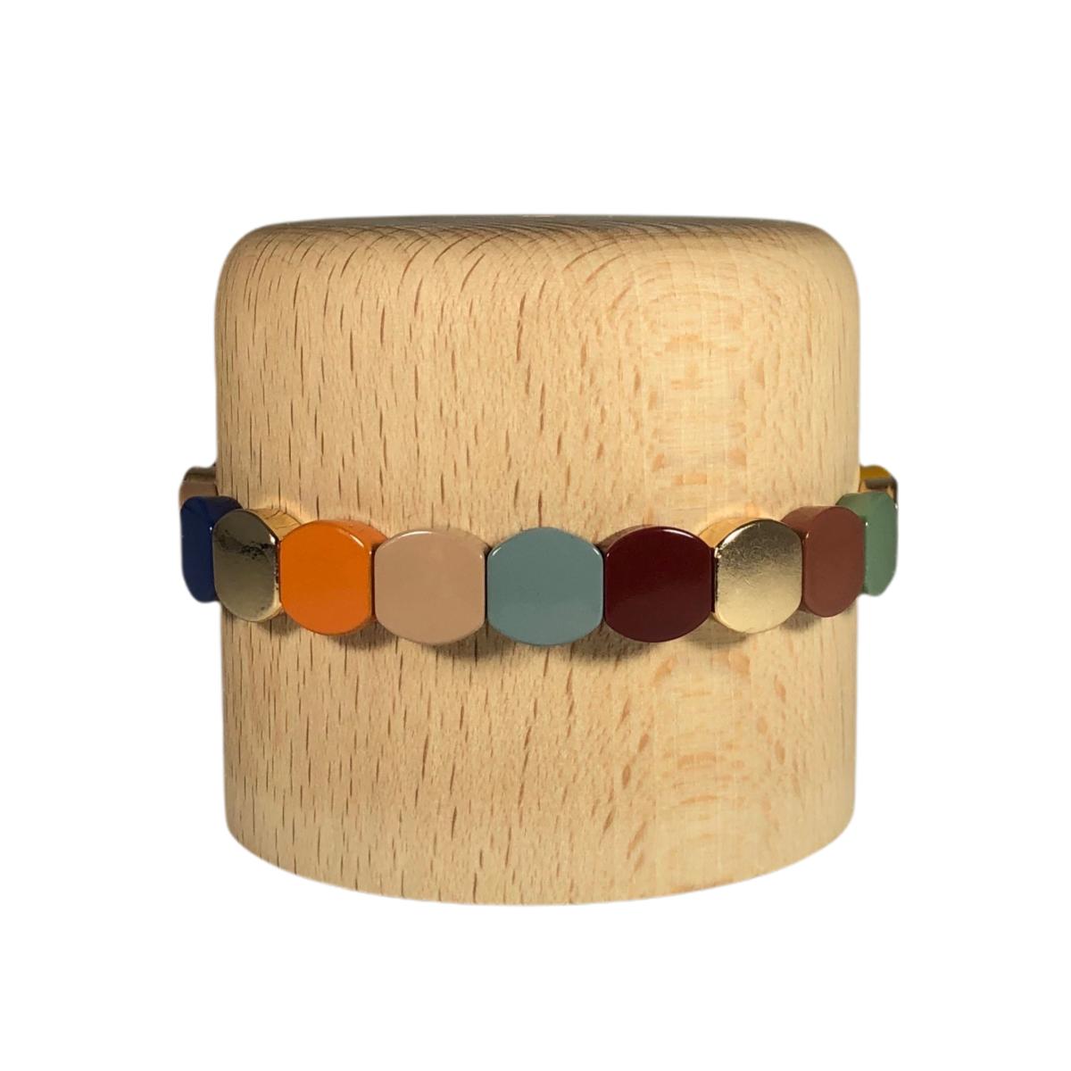 by destele bracelet lou multicolore