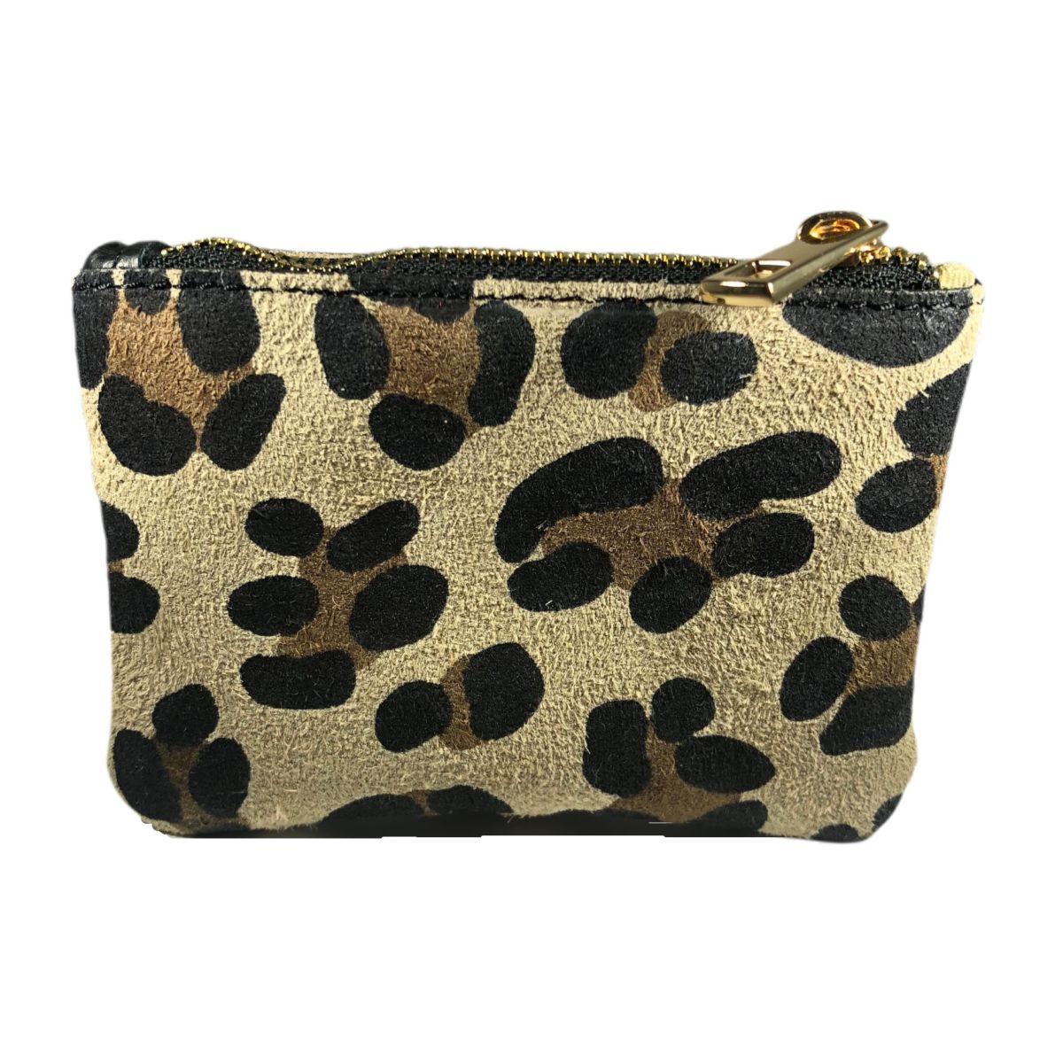 porte-monnaie leopard