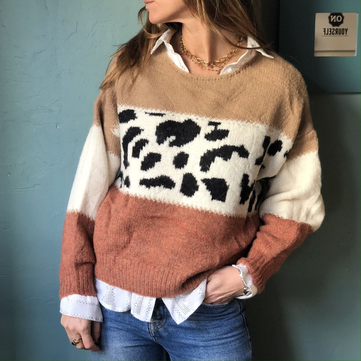 by destele pull panthere camel