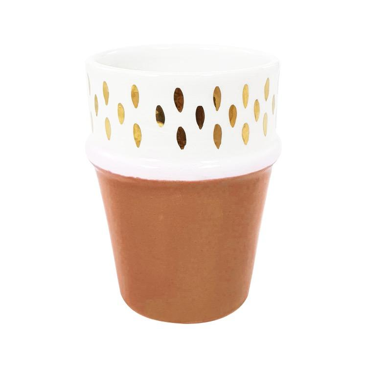 by destele tasse sable gold