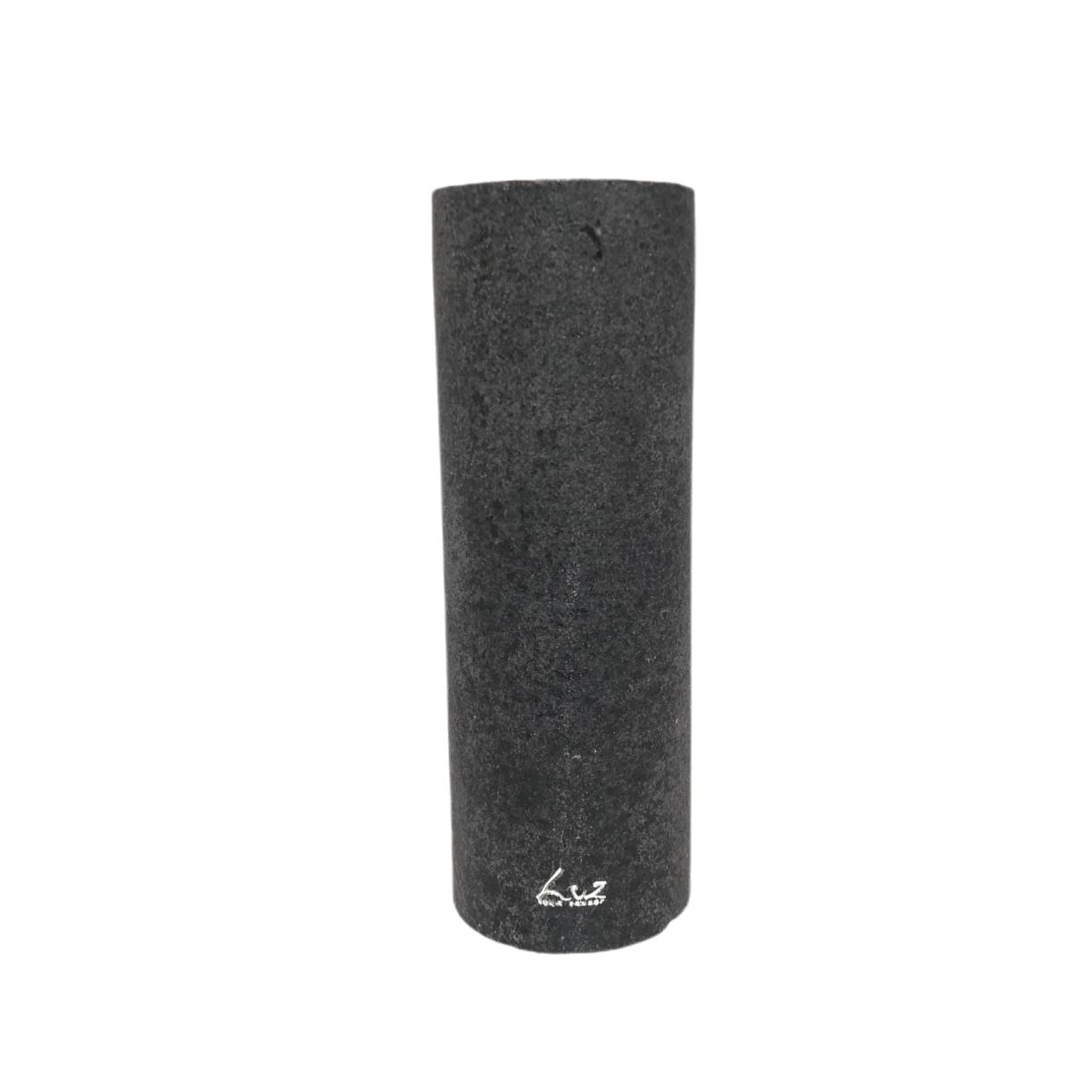 Bougie cylindre GM noire luz by Destele