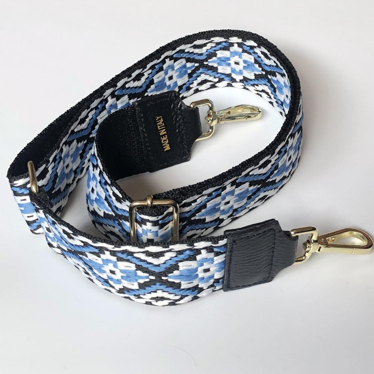 bandoulière amovible interchangeable sac bleu by destele