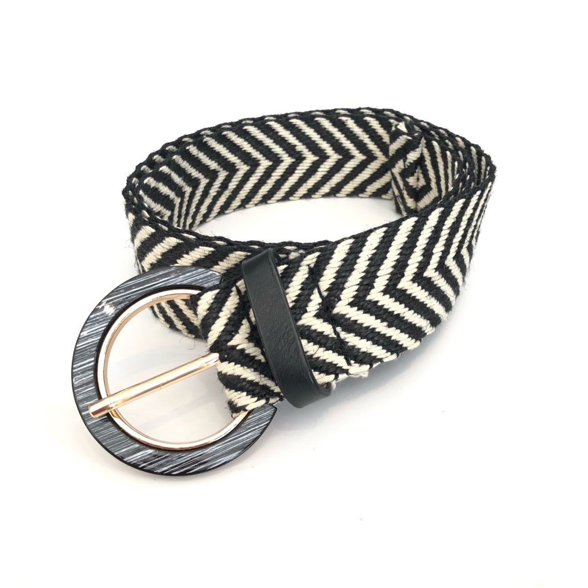 ceinture noir et blanc by destele