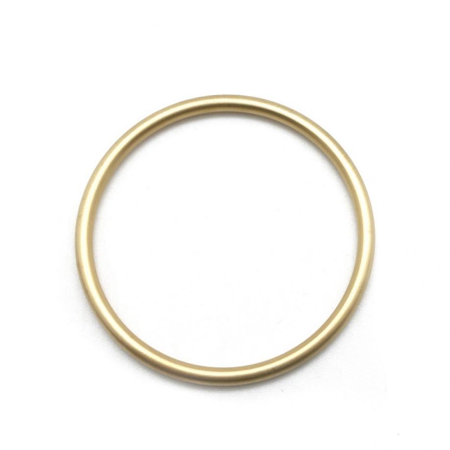 By Destele bracelet fermé doré en acier inoxydable